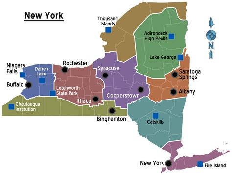 state map of new york new york state travel guide at wikivoyage