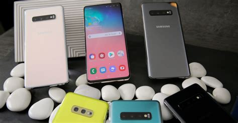 Samsung Galaxy S10 Key Features by The Key Features Of Samsung S New Galaxy S10 Line Up Techcentral