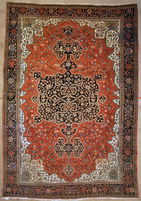And Rugs antique farahan sarouk rug rugs more