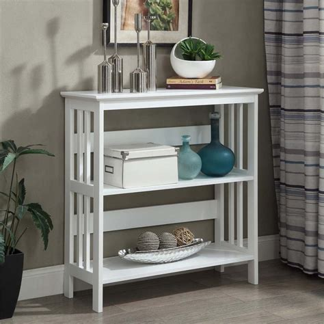 2 shelf bookcase white 2 shelf bookcase in white 203330w