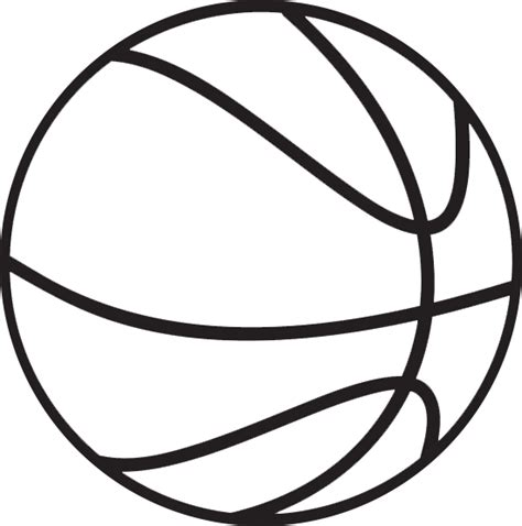 basketball clipart black and white basketball clipart transparent background clipartsgram