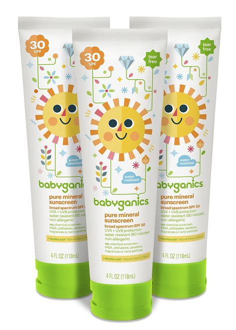 Babyganics Sunscreen Spray Spf50 177ml For Sunblock Krim Matahari best value babyganics mineral based sunscreen spf 50 59ml