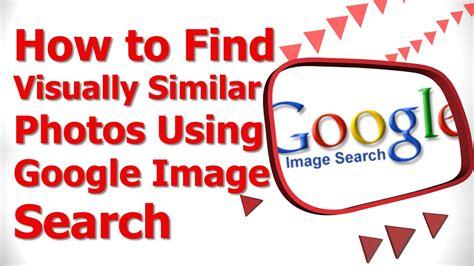find visually similar   google image