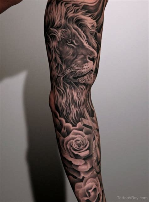 lion tattoo sleeve tattoos designs pictures page 29