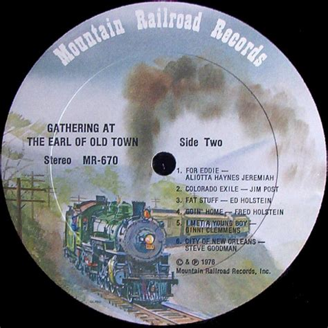 Railroad Records Cvinyl Label Variations Mountain Railroad Records
