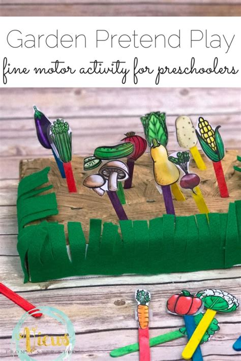 Garden Kids Crafts and Activities   The Crafting Chicks