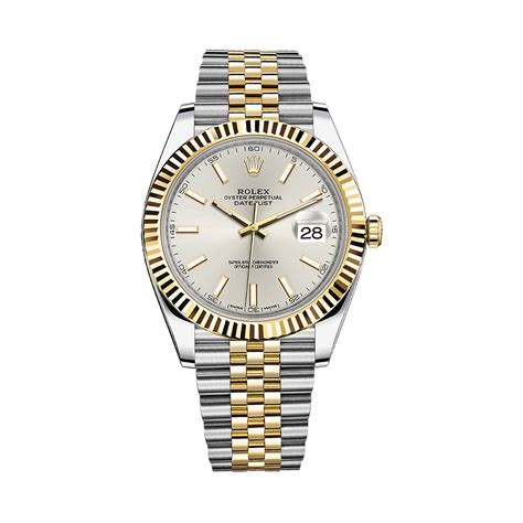 Rolex Datejust Combi Gold For rolex datejust 41 126333 gold stainless steel silver world s best