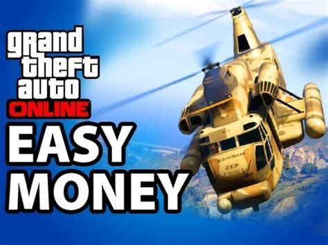Best Way To Make Money In Gta Online - best way to make money in gta 5 online 180 000 hour mission gta v online tips and