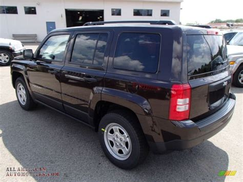 light brown jeep 2014 jeep patriot sport in rugged brown metallic photo 8