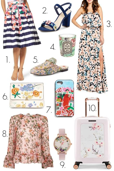 5 Floral Wardrobe Must Haves by Floral Must Haves For Coffee Beans And Bobby Pins