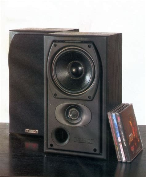 mission 731i bookshelf speakers review and test