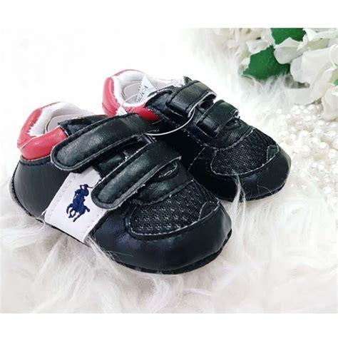 Sepatu Bayi Prewalker Marc Black 4 sepatu bayi laki laki perempuan prewalker polo black new shopee indonesia