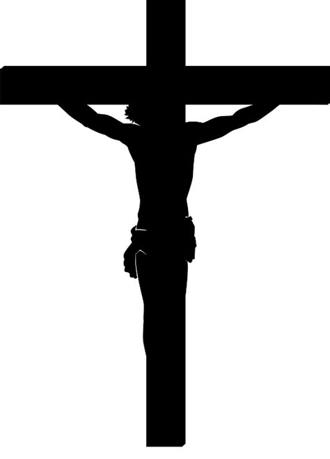 cross with jesus clipart clipartxtras