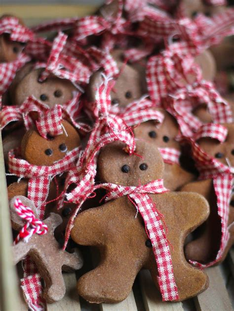 diy gingerbread men cinnamon salt dough christmas