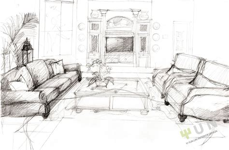 sketch room interior design sketches interior design