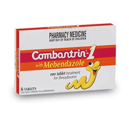 Combantrin Tab worm treatment threadworm prevention combantrin 174 australia