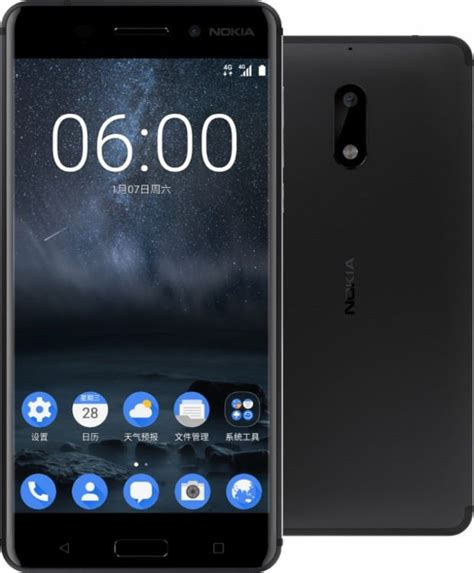 Hp Nokia Android 5 Inch nokia 6 with 5 5 inch hd display 4gb ram and 16mp officially announced 91mobiles