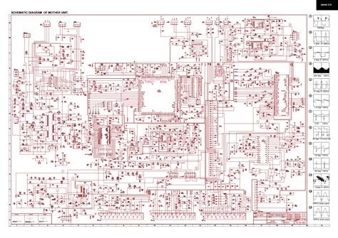Sharp Television Free Schematic sharp 28hw57e schematic service manual schematics eeprom repair info for electronics
