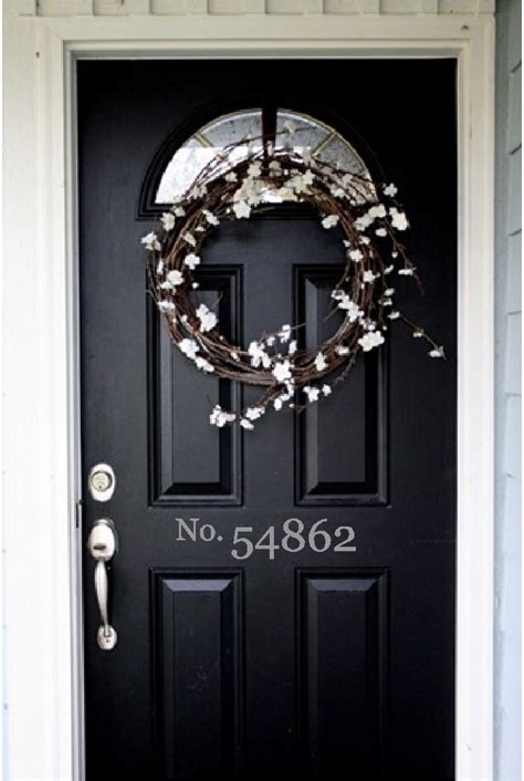 1000 Images About Curb Appeal On Pinterest House Front Door Number Plaques