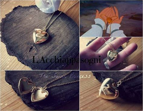 Anting Rhinestone Swan Princess Gold Plated the swan princess inspired odette locket necklace swan locket locket necklace 18k