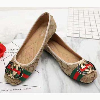 Slip On Gucci Flat Shoes Gucci Wedges Gucci De41 Go Murah gucci flat shoes for www pixshark images