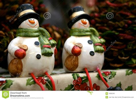 Z Decorations by Snowmen Decorations Royalty Free Stock Photo Image 1605245