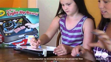 light up drawing board crayola dry erase light up designer review fun drawing