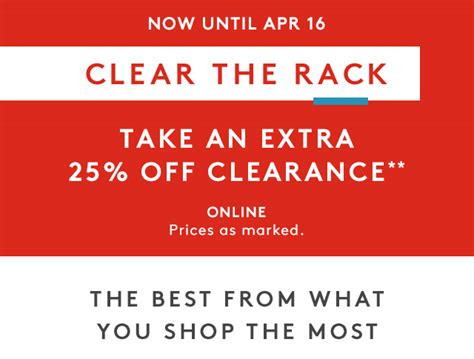 Best Day To Shop At Nordstrom Rack by Nordstrom Rack 25 Clearance Ends In 3 Days