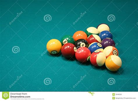How To Rack Pool Balls For 8 Picture by 8 Rack Stock Photo Image 3046250