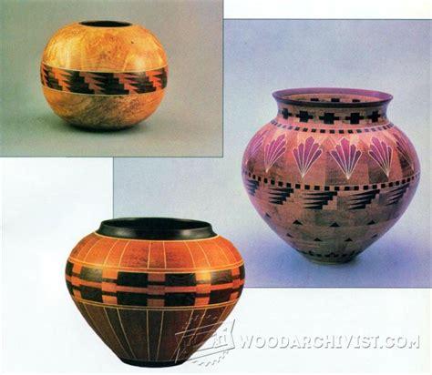bowl segmented woodturning plans woodarchivist