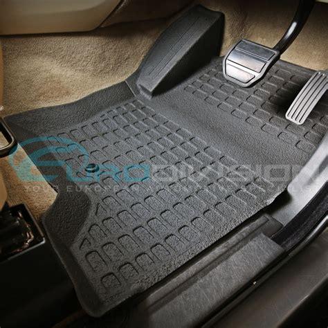 Inside Floor Mats by Land Rover Discovery 3 Rubber Interior Floor Mats Ebay