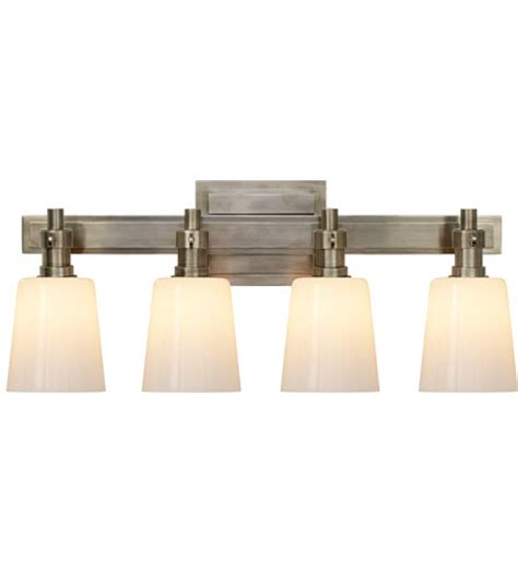 visual comfort bryant sconce visual comfort thomas o brien bryant four light bath