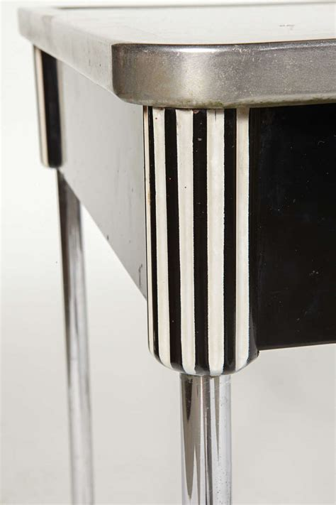 Iconic Art Deco Or Machine Age Smartline Kitchen Table By Deco Kitchen Table