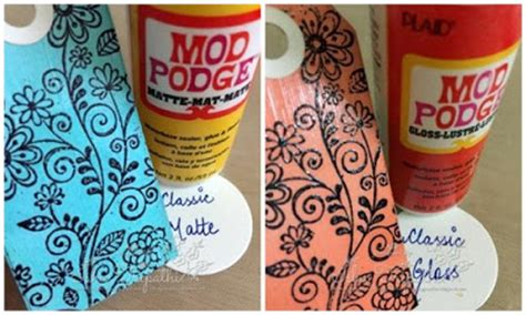 What Is The Difference Between Decoupage And Mod Podge - crafters corner all you need to about mod podge