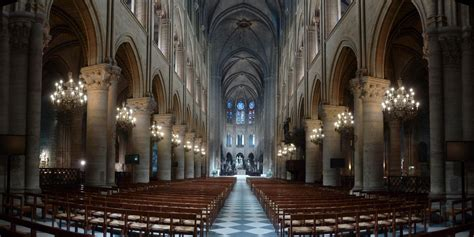 Notre Dame Cathedral Interior by Philips Lights Up Notre Dame As Never Seen Before
