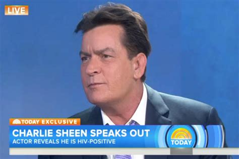 tv guide sheen quot i am in fact hiv positive