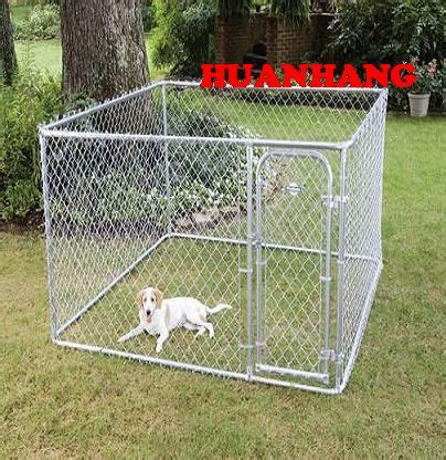 galvanised dog kennel sections chain dog fence galvanized kennel l link mesh fences