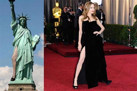 Angelina Leg Meme - angelina jolie horrified over leg bomb memes 9thefix