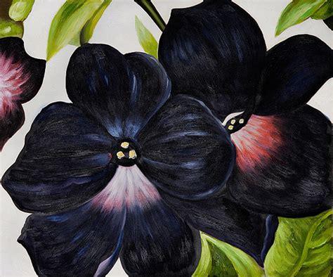 black and purple petunias georgia o keeffe wikiart org