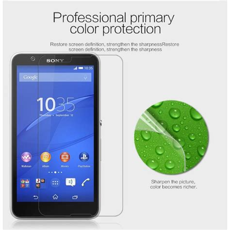 Protector With Stand For Sony Xperia E4 sony xperia e4 screen protector clear nillkin