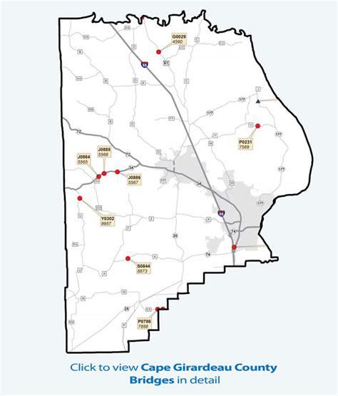 missouri map cape girardeau cape girardeau