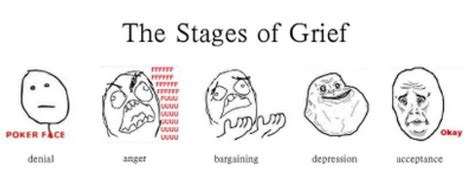 stages of dissertation stages of grief self help with the trading circle
