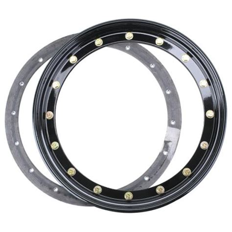 Wheels Ring speedway motors 3 16 quot thick steel racing offroad beadlock