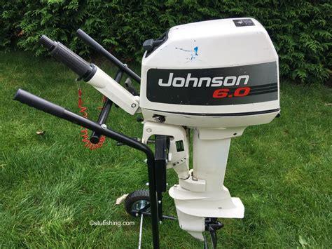 outboard boat motor in car johnson outboard motor 6hp 2 stroke stufishing