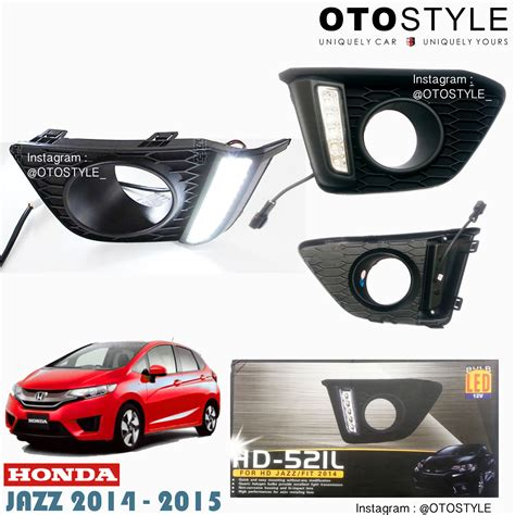 Baru Casing Kunci Remote 2 Tombol Honda City Mobilio Freed Dll jual harga led drl honda jazz 2014 2015 superwhite
