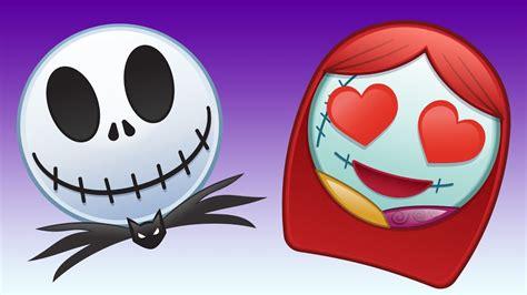 the nightmare before as told by emoji disney