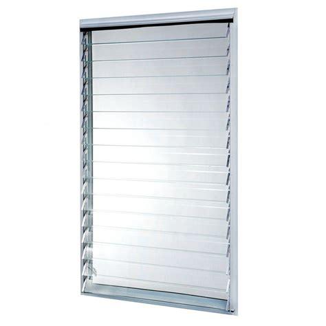 jalousie aluminium tafco windows 23 in x 58 375 in jalousie utility louver
