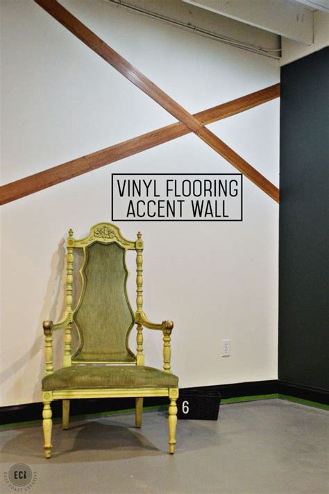 vinyl flooring accent wall decorating pinterest