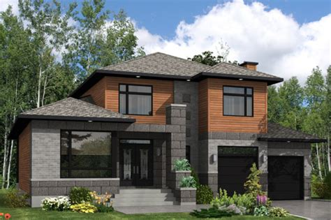 Split Level Style by Modern Style House Plan 3 Beds 2 5 Baths 2410 Sq Ft Plan