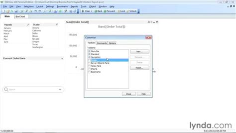 qlikview bi tutorial modifying the qlikview user interface